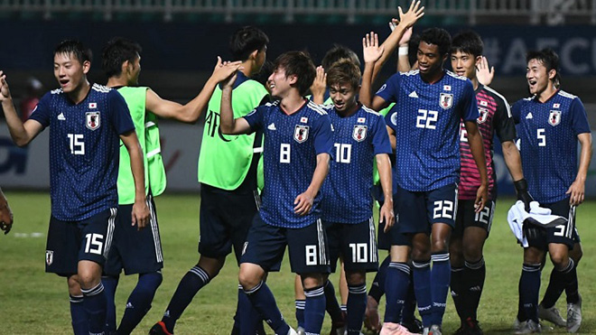U19 Nhật Bản lại có chiến thắng đậm thứ 2 ở lượt trận 2 bảng J chiều 8-11