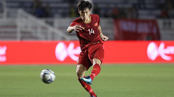 Hoàng Đức nhiều khả năng sẽ luôn ra sân ở VCK U23 châu Á 2020. Ảnh: Hoàng Linh