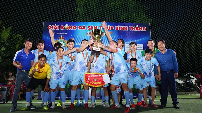 3AH4 FC vô địch giải đấu được đánh giá chất lượng cao của Bình Dương. Ảnh: ĐV