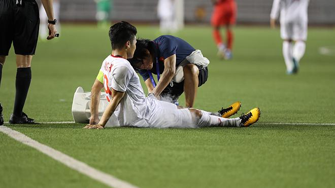 Quang Hải cũng là ứng viên sáng giá, nhưng SEA Games 30 được đánh giá không thành công với cá nhân anh. Ảnh: Hoàng Linh