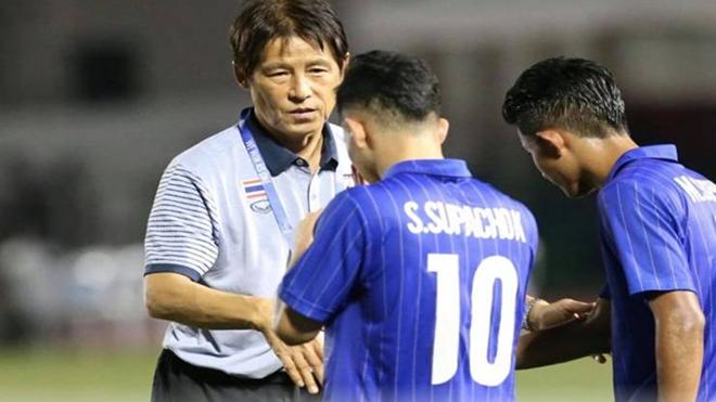 U22 Thái Lan thành cựu vô địch SEA Games không hoàn toàn là lỗi của HLV Nishino