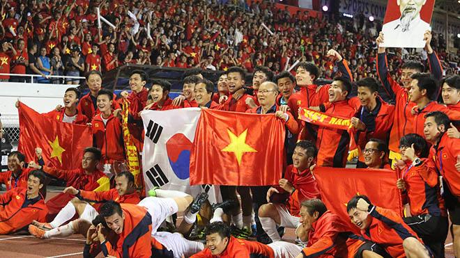 HLV Park Hang Seo và những quyết định lịch sử cùng U22 Việt Nam