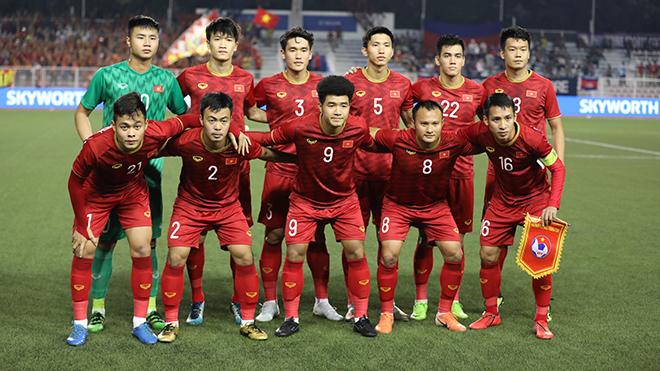 Văn Toản giờ là lựa chọn số 1 của HLV Park Hang Seo ở vị trí thủ môn thay cho Tiến Dũng. Ảnh: Hoàng Linh