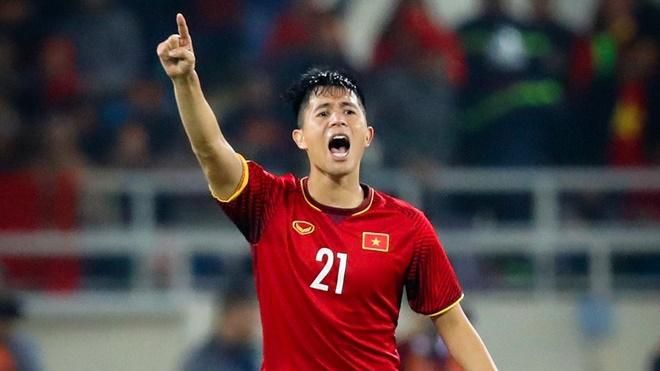 Đình Trọng trở lại sẽ giúp ích rất nhiều cho HLV Park Hang Seo. Ảnh: Hoàng Linh