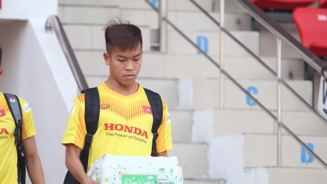 Hữu Thắng khoác áo số 10 của U23 Việt Nam. Ảnh: TH