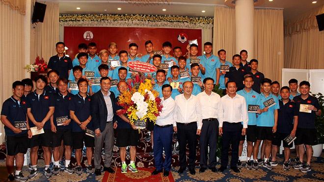 U23 Việt Nam lên đường đến Thái Lan lần này mang theo kỳ vọng vào một cột mốc lịch sử nữa cho bóng đá nước nhà. Ảnh: LH