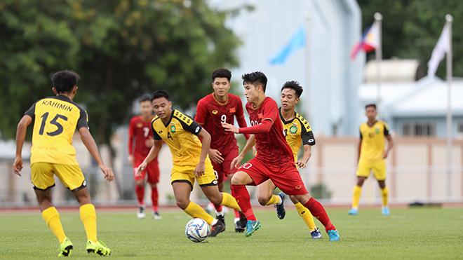 Tiền vệ Thanh Hoá được thử nghiệm liên tục thời gian qua và hứa hẹn sẽ ra sân đều ở VCK U23 châu Á 2020. Ảnh: Hoàng Linh