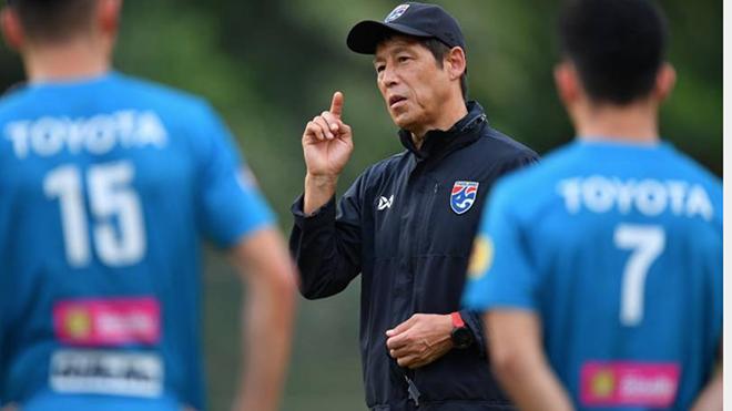 HLV Nishino đối diện với nhiều khó khăn ở U23 Thái Lan