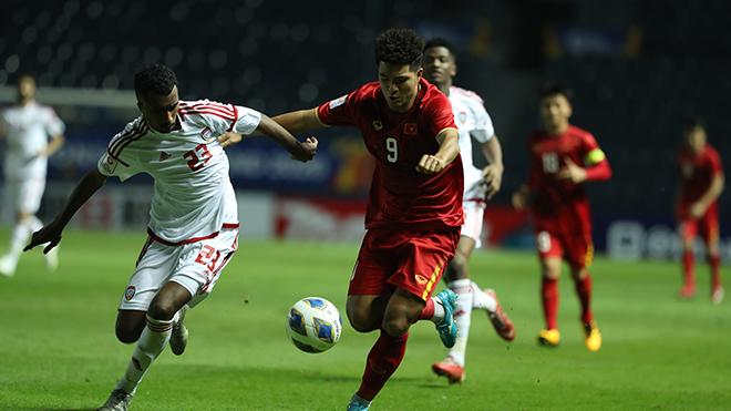 Sự tự tin lấy lại thế trận của U23 Việt Nam là rất đáng khen. Ảnh: Hoàng Linh