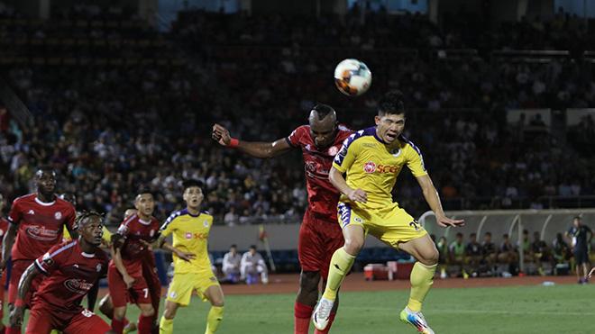 Đại chiến TPHCM và Hà Nội ở Thống Nhất sắp tới hứa hẹn sẽ thi đấu trên sân không khán giả. Ảnh: VPF