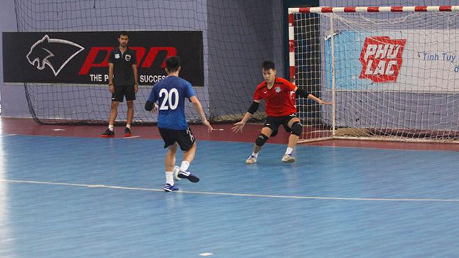Futsal Việt Nam vẫn đặt mục tiêu lớn dự World Cup 2020. Ảnh: TSN