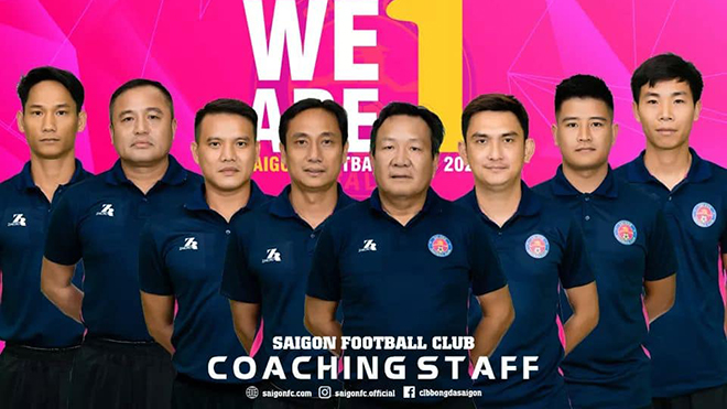 HLV Hoàng Văn Phúc chia tay Sài Gòn FC chỉ sau 1 vòng đấu