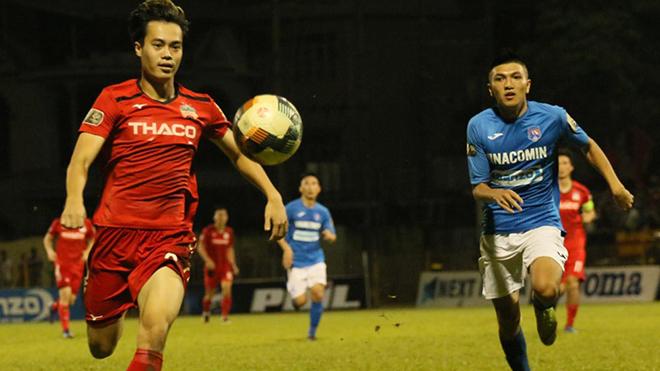 Người bạn thân của Công Phượng là Văn Toàn cũng chơi ấn tượng để giúp HAGL thắng Than Quảng Ninh chiều 6-3. Ảnh: VPF