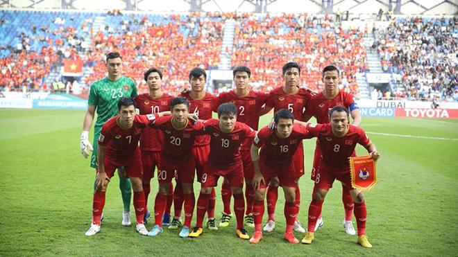 Duy Mạnh luôn nằm trong đội hình chính của HLV Park Hang Seo. Ảnh: Hoàng Linh