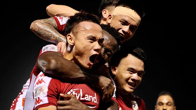 3 bàn thắng cho TP.HCM sau 2 vòng đấu, Xuân Nam gây bất ngờ khi đang dẫn đầu danh sách Vua phá lưới V-League 2020. Ảnh: TPHCM