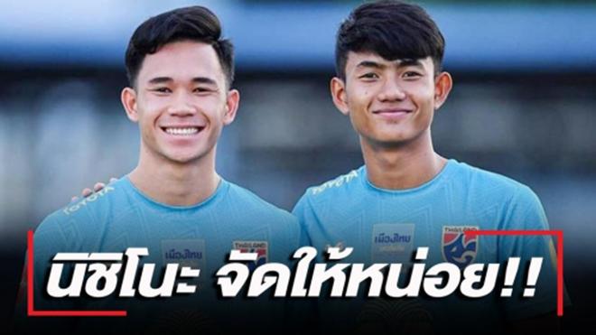 Anh em Supachok - Suphanat, những tài năng lớn của bóng đá Thái Lan. Ảnh: SSM