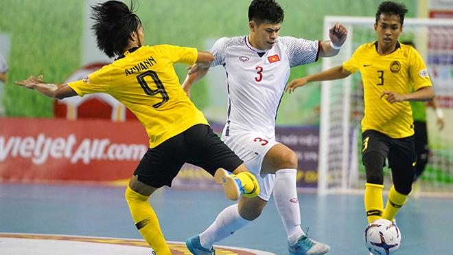 Futsal Việt Nam đặt mục tiêu World Cup như đã từng làm được năm 2016. Ảnh: Độc Lập