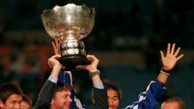HLV Troussier vô địch châu Á với Nhật Bản