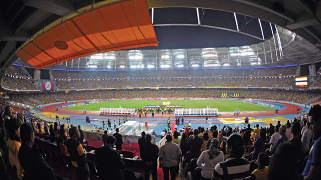 Sân Bukit Jalil là sân đấu xếp thứ 2 ở ASEAN về tính biểu tượng. Ảnh: AFC
