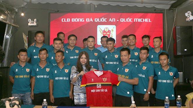 CLB danh tiếng của giới bóng đá phong trào Sài thành nhận được sự đầu tư chuyên nghiệp