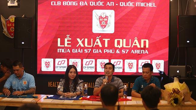 Quốc An Quốc Michel đặt kỳ vọng sẽ vô địch những giải đấu lớn của bóng đá phong trào Sài Gòn sắp tới như TL-S2 hay SPL