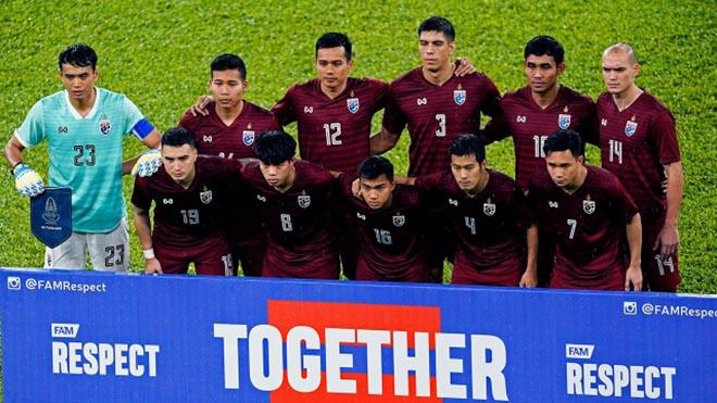Thái Lan là hạt giống số 1 AFF Cup 2020 như tuyển Việt Nam