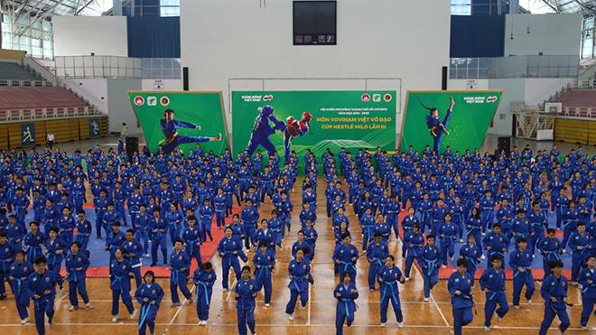 Sau bóng đá, võ Việt khuấy động thể thao TPHCM
