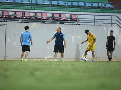 HLV Park Hang Seo có bộ khung cho U22 Việt Nam tại SEA Games 31