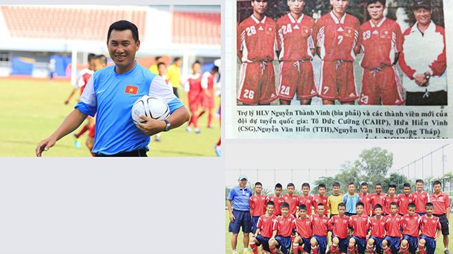 Cựu tuyển thủ QG Hứa Hiền Vinh có tiếng điềm đạm từ khi thi đấu đến khi cầm sa bàn huấn luyện. Ảnh: PVF