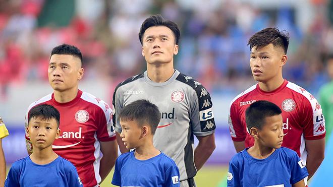 bóng đá Việt Nam, tin tức bóng đá, Bùi Tiến Dũng, thủ môn Bùi Tiến Dũng, TPHCM, kết quả bóng đá hôm nay, BXH V League, lịch thi đấu vòng 10 V League, Park Hang Seo
