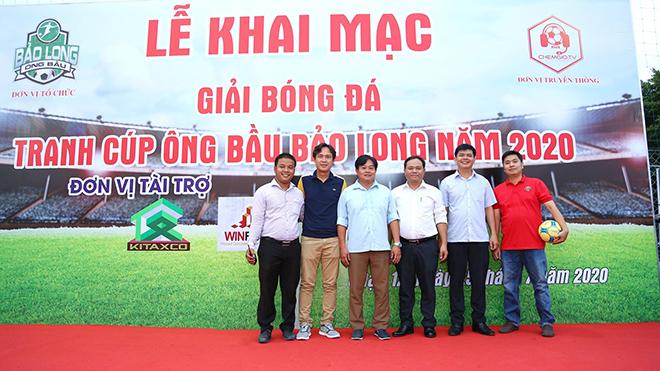 HLV Nguyễn Minh Phương luôn khuyến khích những sân chơi phong trào để đặt nền tảng cho bóng đá đỉnh cao