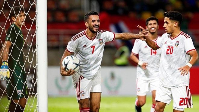 Ali Mabkhout là sát thủ hàng đầu của bóng đá UAE
