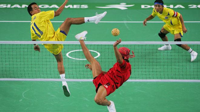 Cầu mây là môn thể thao thế mạnh của Thái Lan