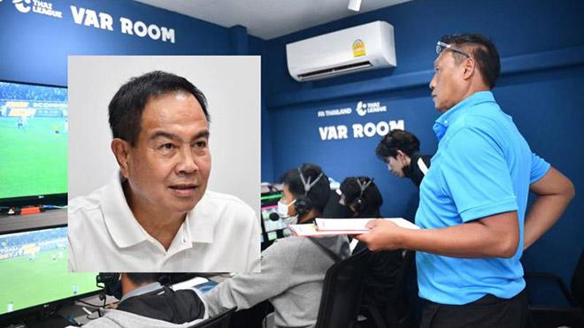 Chủ tịch FAT Somyot chính thức xác nhận VAR sẽ có ở mọi trận đấu ở hạng đấu cao nhất Thai League 1