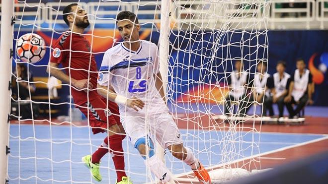Tayebi là thần tượng của rất nhiều cầu thủ chơi futsal châu Á. Ảnh: TSN