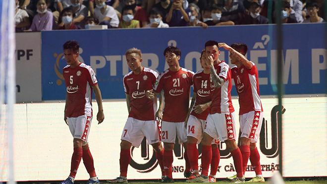 bóng đá Việt Nam, tin tức bóng đá, TPHCM 5-1 Nam Định, Công Phượng, BXH V League, kết quả bóng đá V League, V League, lịch thi đấu vòng 13 V League