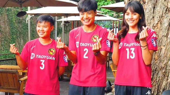 Pitsamai Sornsai đang đầu quân cho CLB Inter Taoyuan là tuyển thủ nữ Thái Lan đầu tiên chơi bóng ở nước ngoài