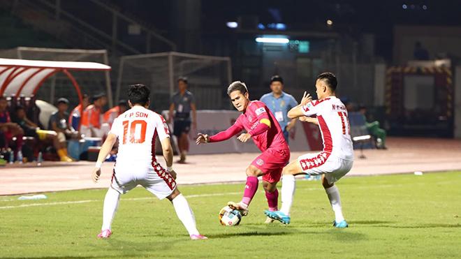 bóng đá Việt Nam, tin tức bóng đá, bong da, tin bong da, Sài Gòn FC, HLV Vũ Tiến Thành, lịch thi đấu V League, BXH V League, kết quả bóng đá