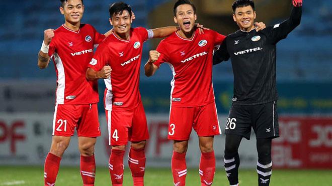bóng đá Việt Nam, tin tức bóng đá, Viettel vô địch, Quế Ngọc Hải, Viettel, HLV Trương Việt Hoàng, Viettel vô địch V League, BXH V League