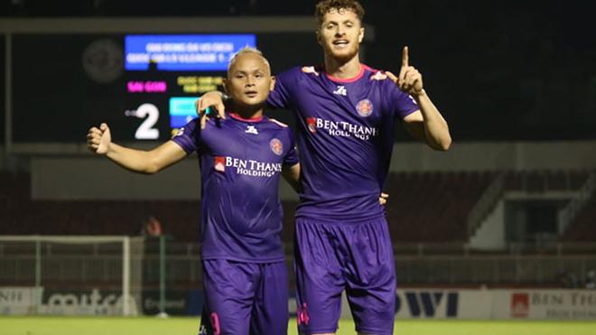 Vua phá lưới V-League 2020 và hàng loạt cầu thủ chia tay Sài Gòn FC