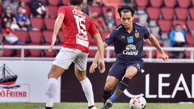 Đã 2 trận đấu giao hữu ĐTQG Thái Lan đều không thắng đối thủ trong nước