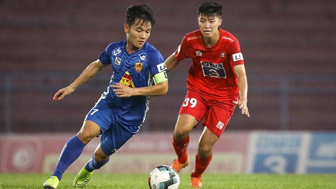 Đội trưởng Thanh Trung được đánh giá rất cao ở giải hạng Nhất năm tới với Quảng Nam. Ảnh: QNFC