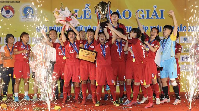 Cô trò HLV Kim Chi đã đăng quang chức vô địch quốc gia 5 lần sau 6 năm gần nhất. Ảnh: AP