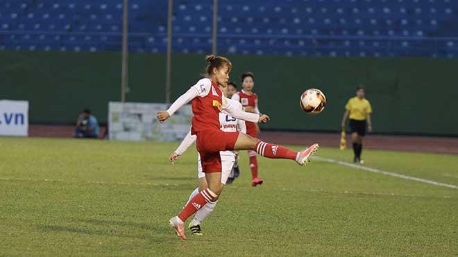 Than khoáng sản Việt Nam chính thức nhận HCĐ giải bóng đá nữ VĐQG 2020 sau vòng 13. Ảnh: AP