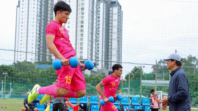 Sài Gòn FC tạm dựng xong bộ khung đội hình nội binh khá ổn trước V-League 2020