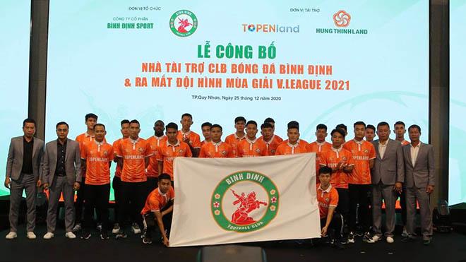 Tân binh V-League Bình Định được đầu tư 'khủng'