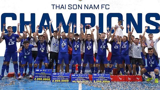 Thái Sơn Nam đã ăn ba ở mùa giải 2020. Ảnh: TS