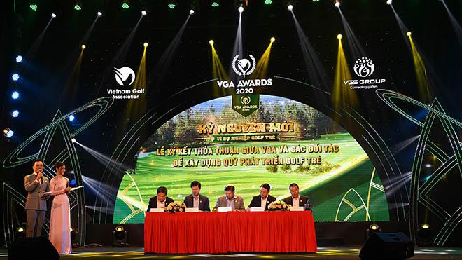Quỹ phát triển Golf trẻ sẽ có ảnh hưởng tới sự phát triển của golf Việt. Ảnh: NH