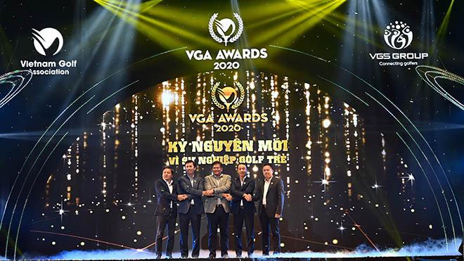 VGA Awards ra đời giúp làng golf Việt có định hướng phát triển bài bản và chuyên nghiệp hơn. Ảnh: NH