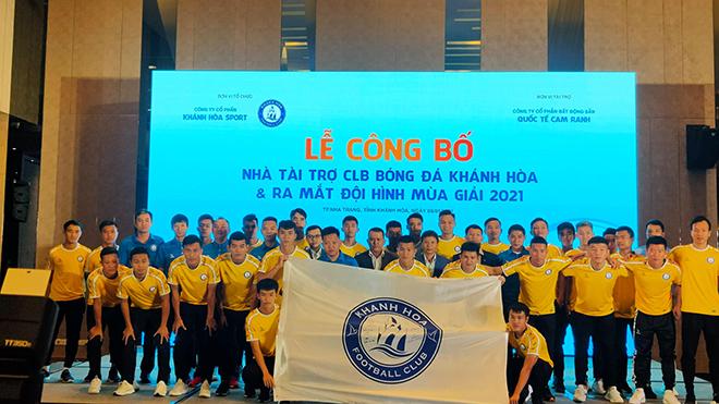 HLV Võ Đình Tân, Khánh Hoà, bóng đá, tin bóng đá, tin tức bóng đá, 20 tỷ cho Khánh Hoà, bóng đá hôm nay, bóng đá Việt Nam, V-League